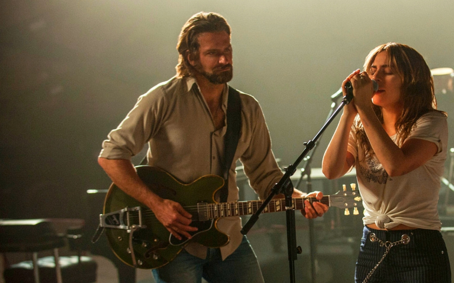 "Bradley Cooper und Lady Gaga in ""A Star Is Born"" 