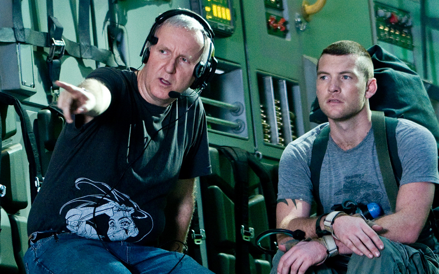 Dream-Team des ersten Films: James Cameron und Sam Worthington | © 20th Century Fox