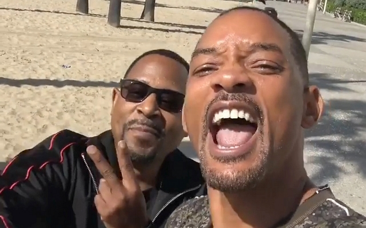 "Beste Laune bei Martin Lawrence und Will Smith: ""Bad Boys For Life"" kommt (c) Will Smith"