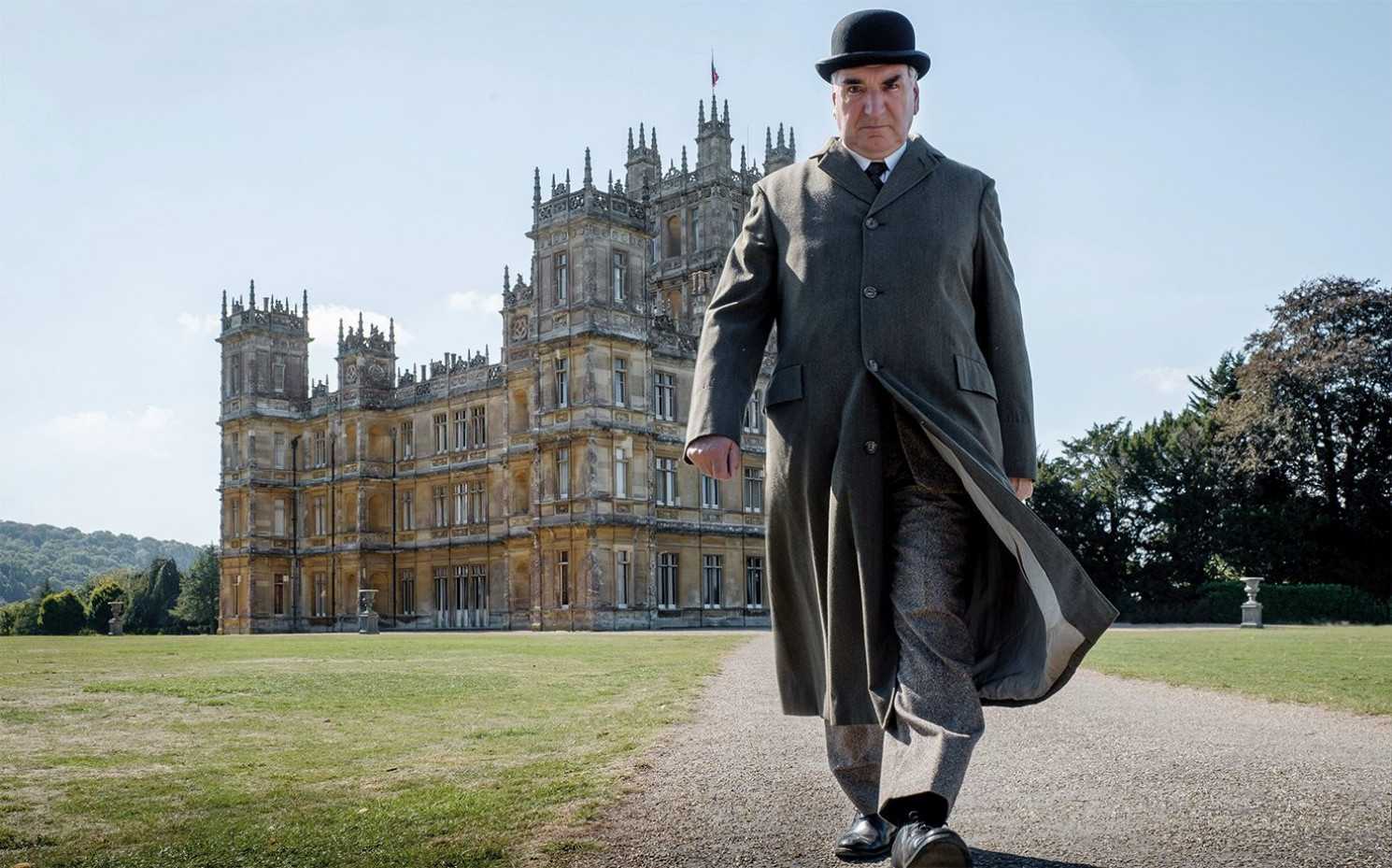 "Zu mieten: Die ""Downton Abbey""-Kulisse Highclere Castle - nicht Carson! 