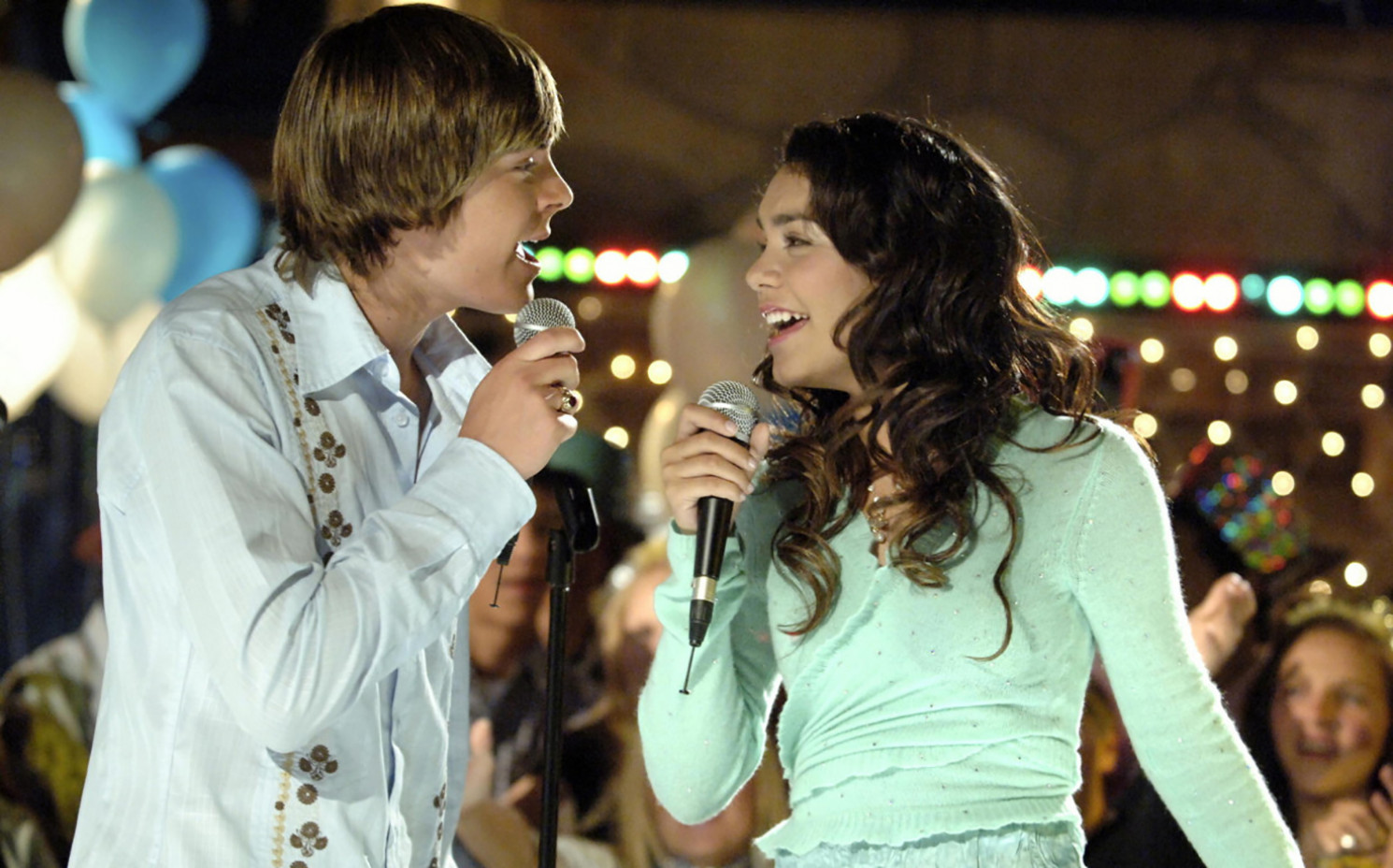 "Der Disney-Hit ""High School Musical"" machte Zac Efron und Vanessa Hudgens zu Stars. © Disney"