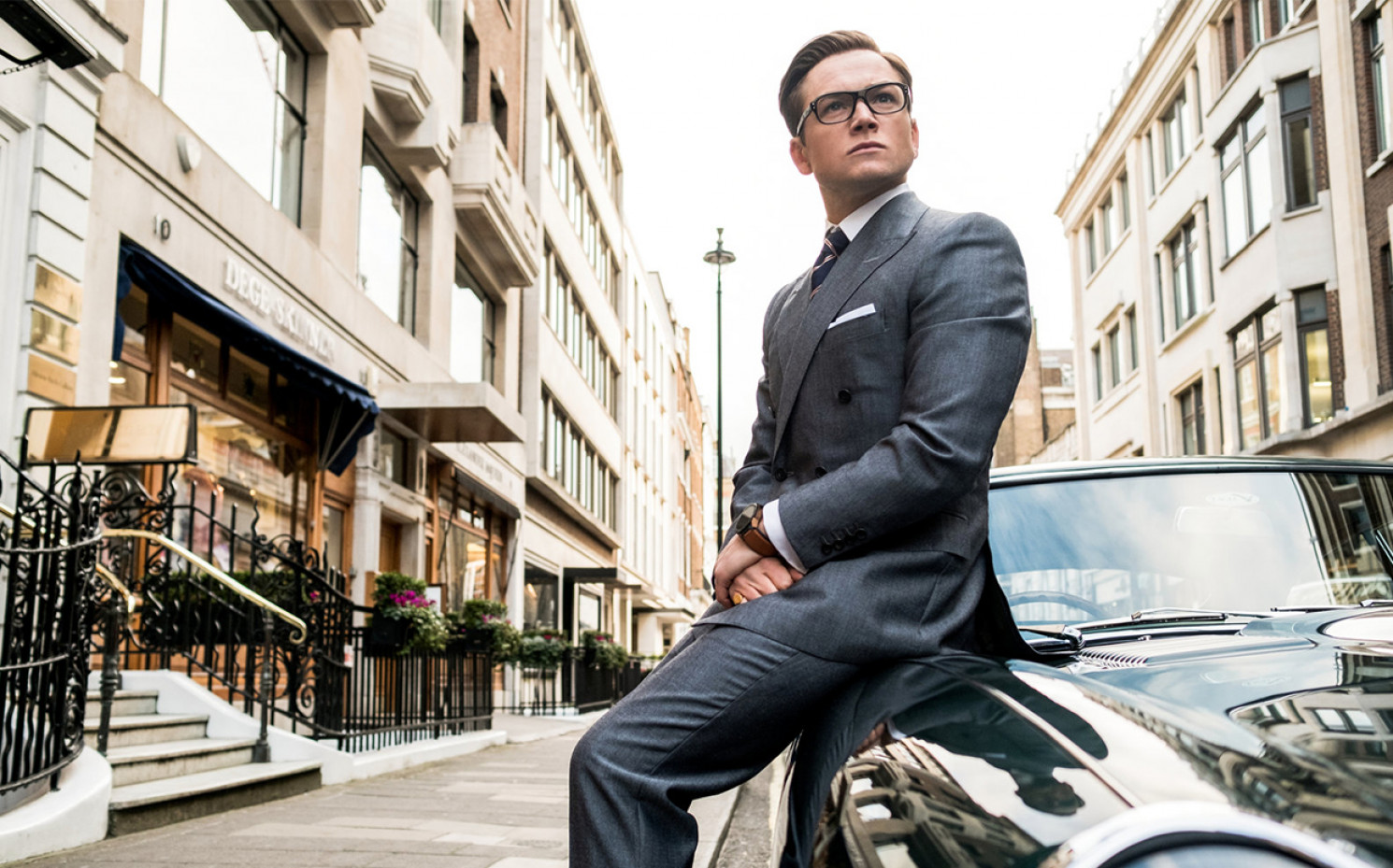 "Taron Egsy Egerton in ""Kingsman - The Golden Circle"" 