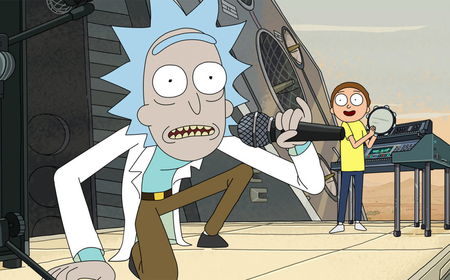 "Getting Schwifty: ""Rick and Morty"" 