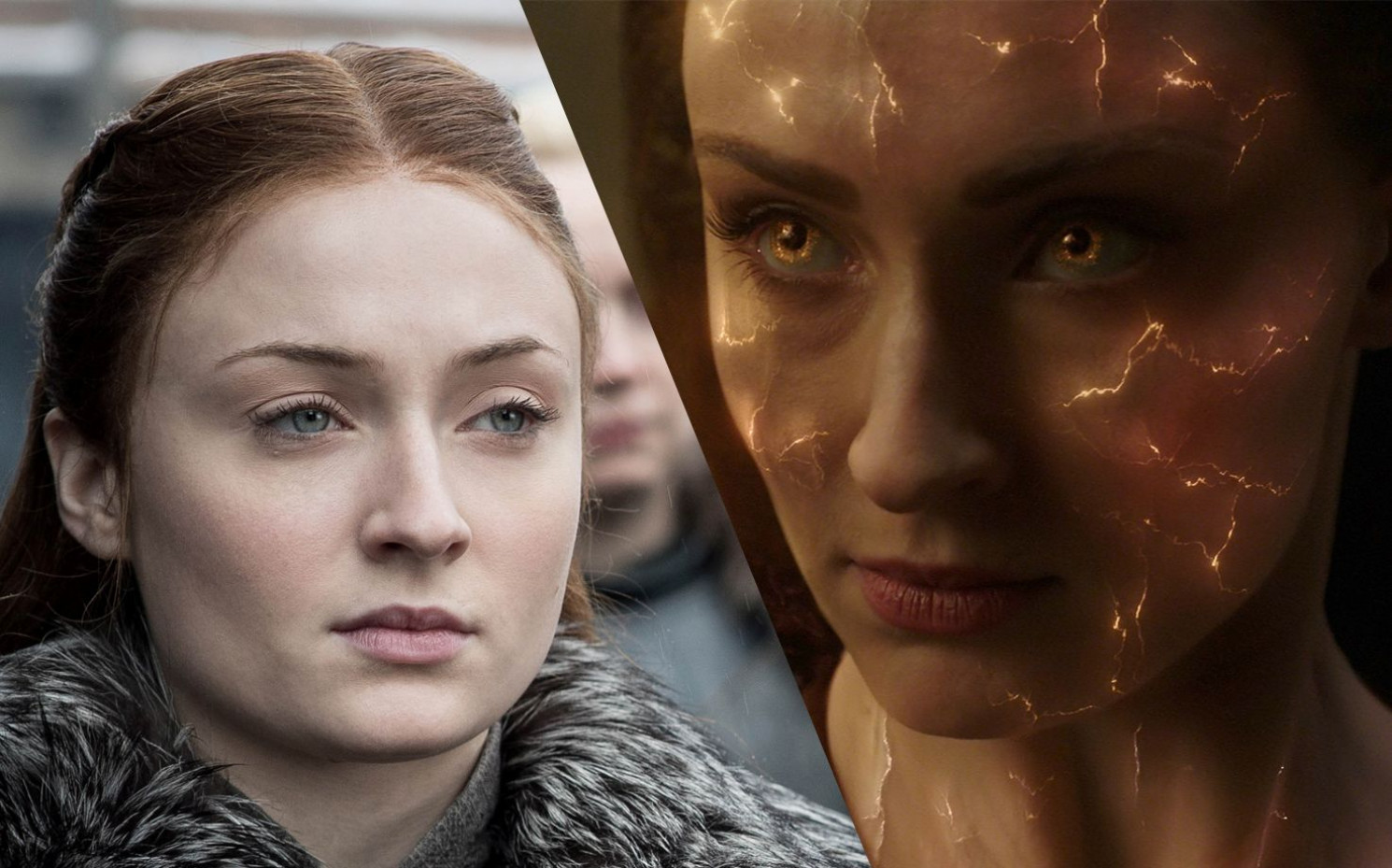 "Sophie Turner ist nach dem Ende von ""Game of Thrones"" als Jean Grey in ""X-Men: Dark Phoenix"" im Kino zu sehen._Copyright: HBO/Twentieth Century Fox"