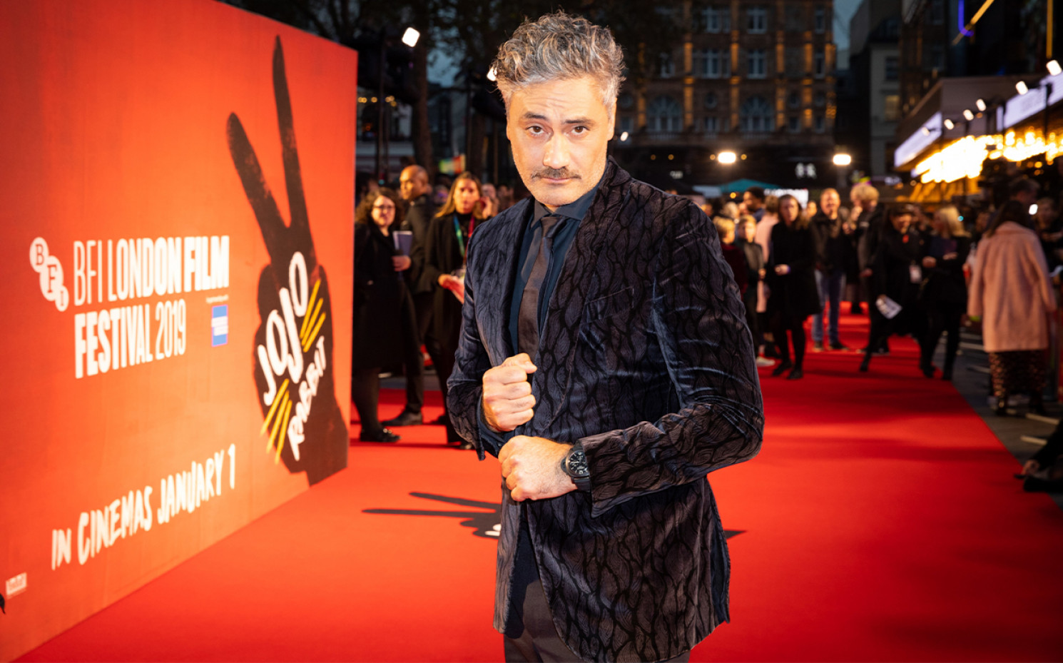 Taika Waititi beim London Film Festival 2019 | © 20th Century Fox
