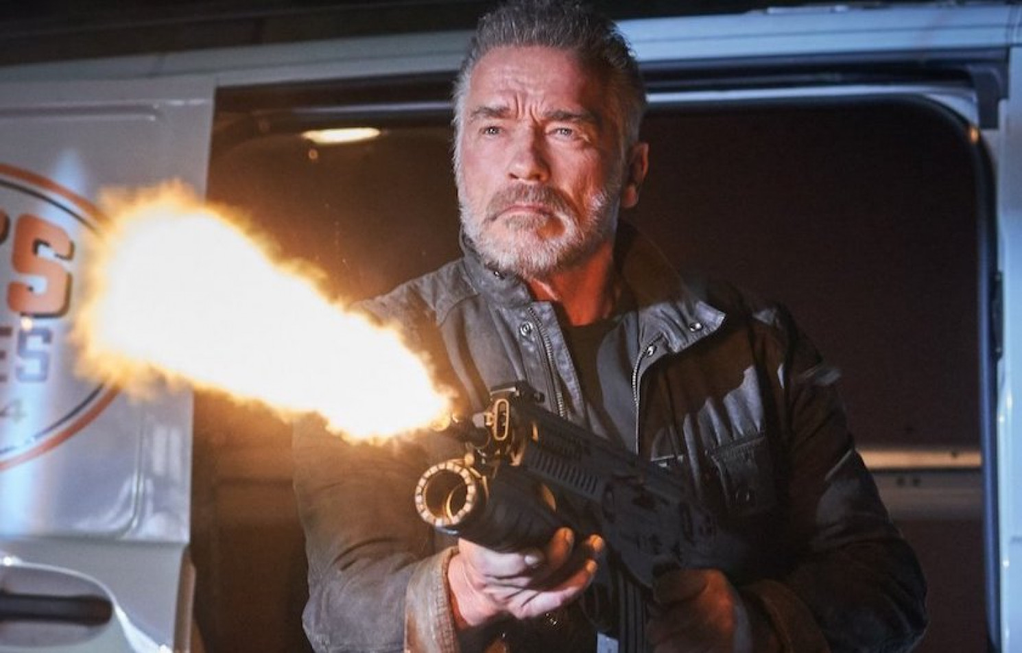 "Arnold Schwarzenegger in ""Terminator: Dark Fate"" 