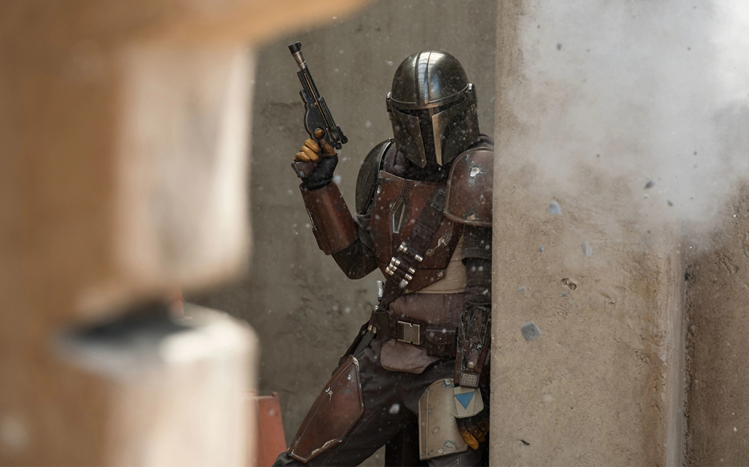 "Pedro Pascal in Aktion: ""The Mandalorian"" 