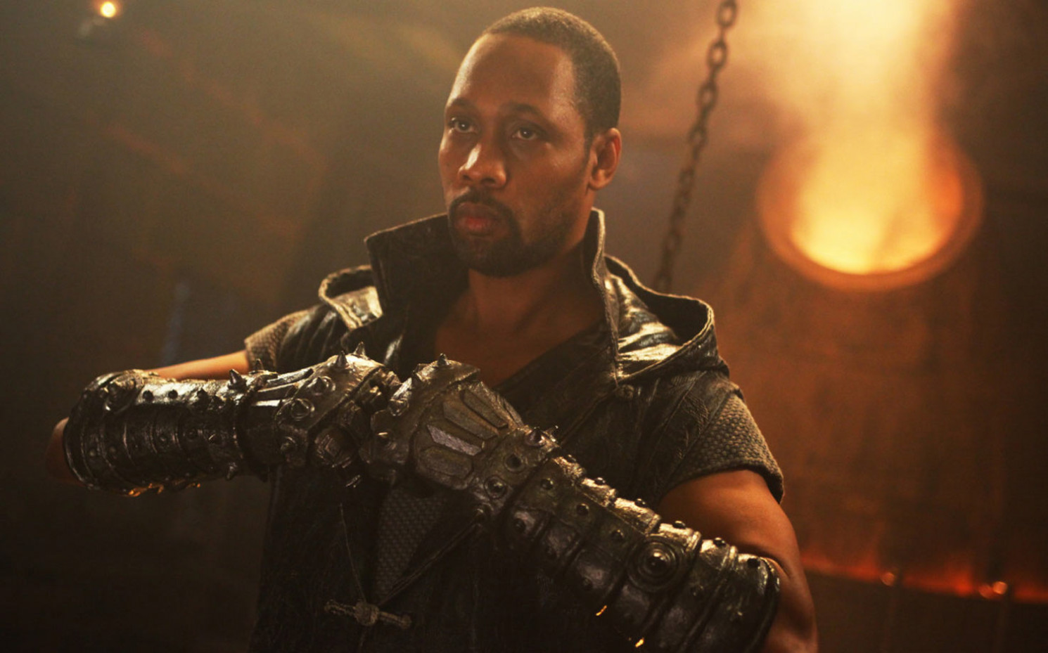 "RZA in ""The Man with the Iron Fists"" / Copyright Universal"