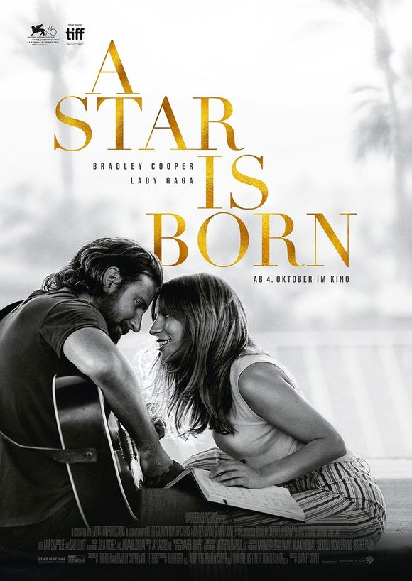 Plakat des Films: A Star is Born