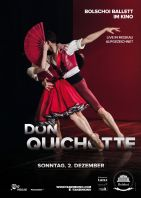 Plakat des Films: Bolshoi Ballett 2018/19: Don Quichotte