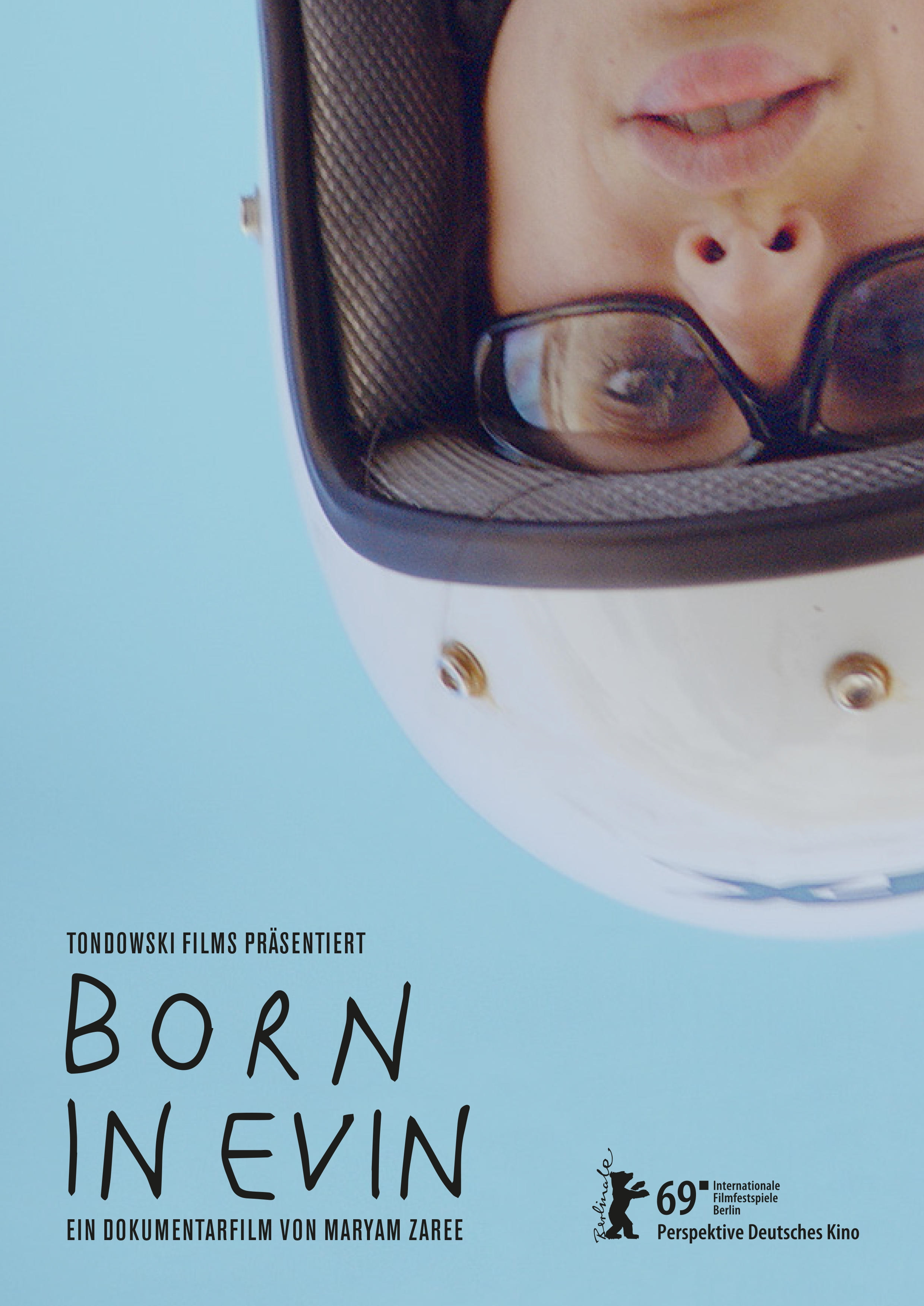 Plakat des Films: Born in Evin