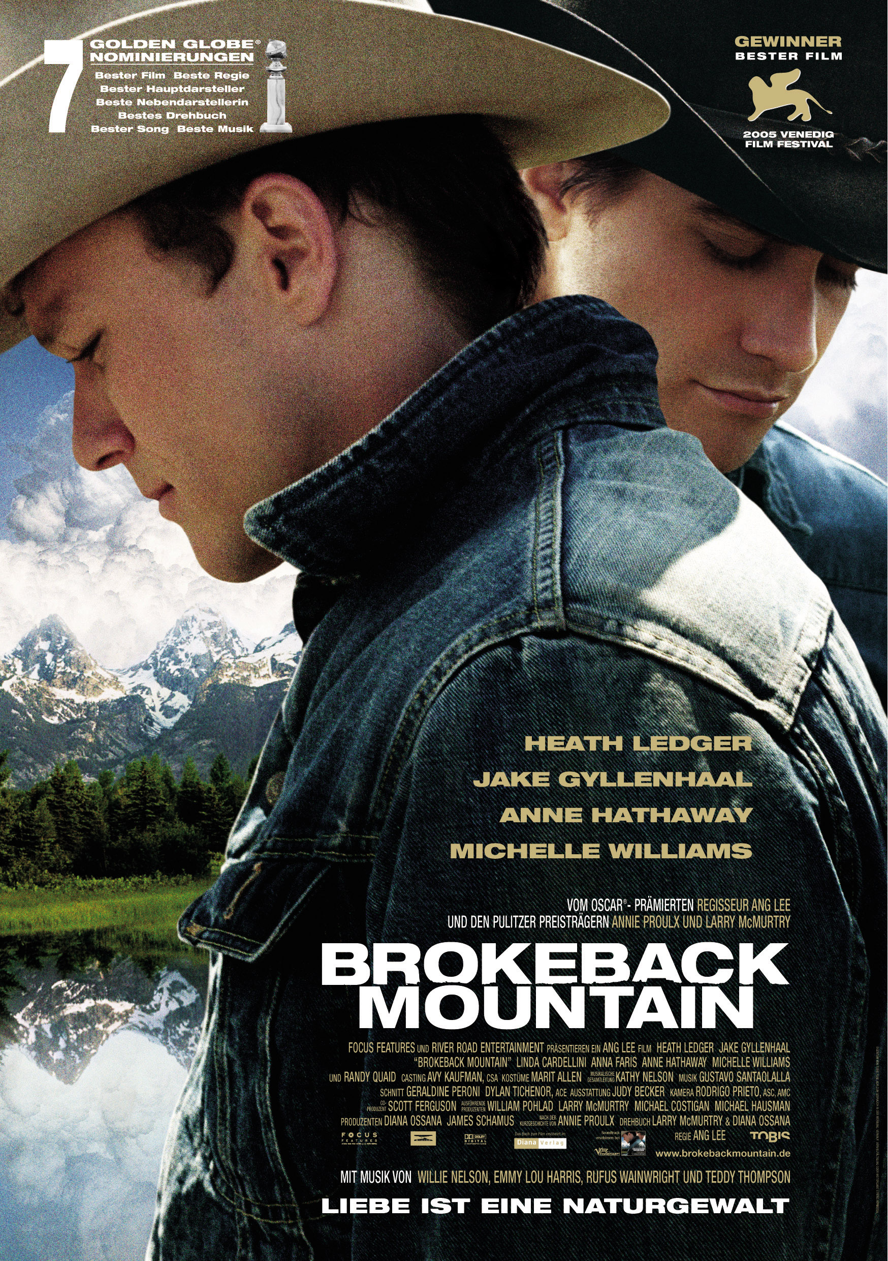 Plakat des Films: Brokeback Mountain