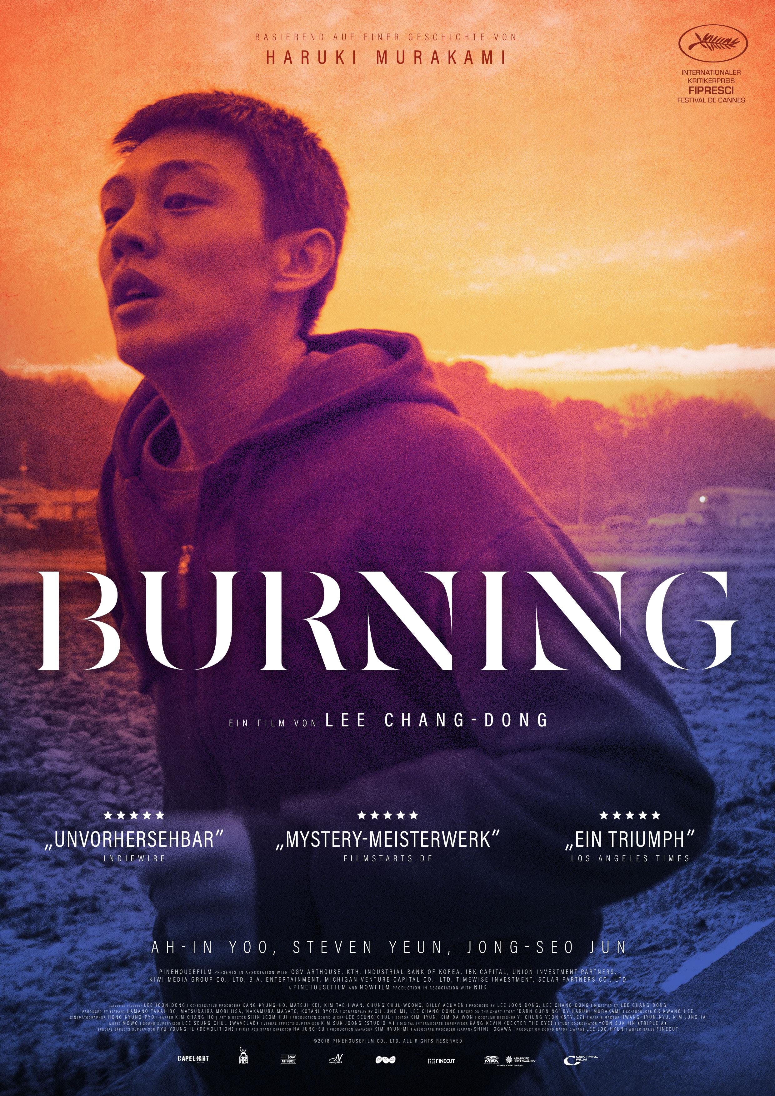 Plakat des Films: Burning