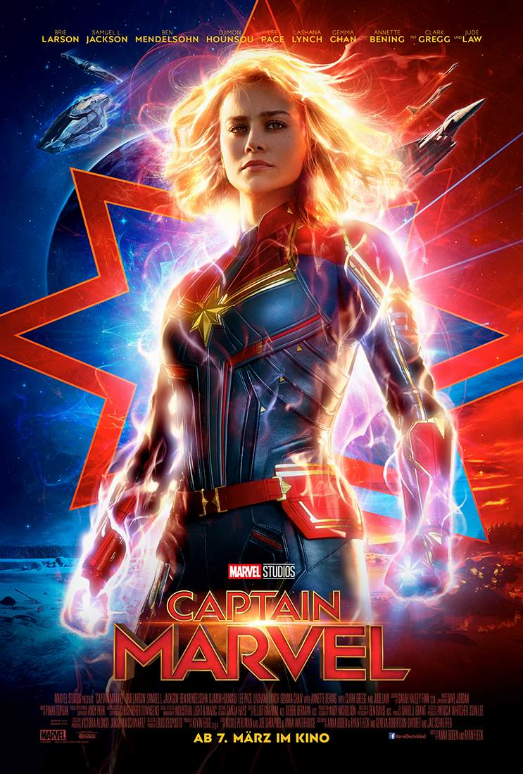 Plakat des Films: Captain Marvel