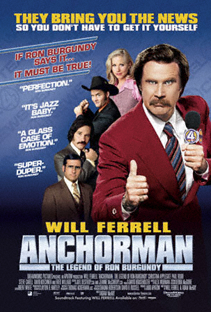 Plakat des Films: Der Anchorman - Die Legende von Ron Burgundy