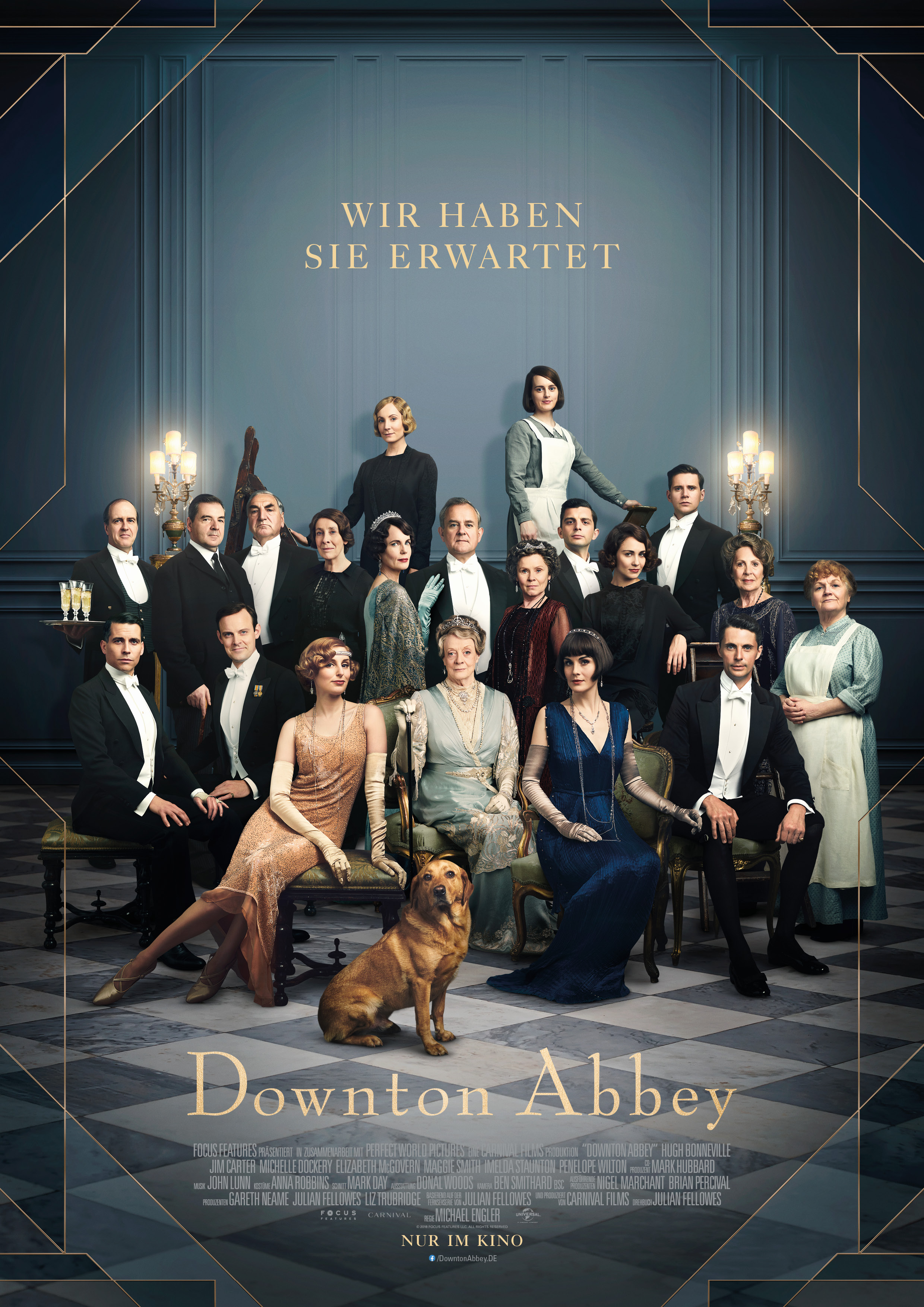 Plakat des Films: Downton Abbey