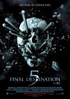 Plakat des Films: Final Destination 5