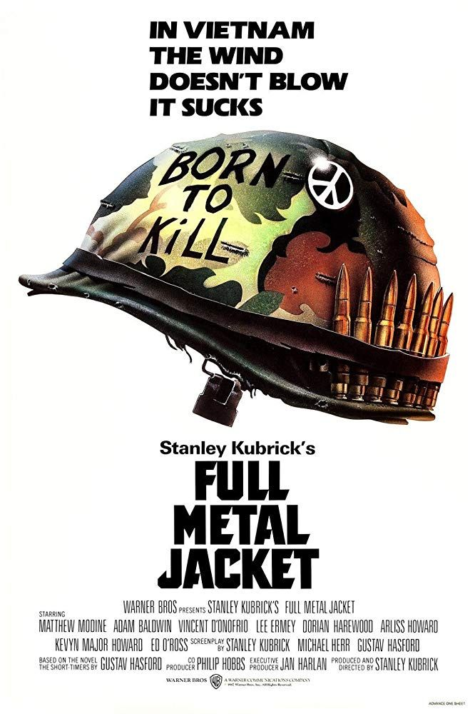 Plakat des Films: Full Metal Jacket