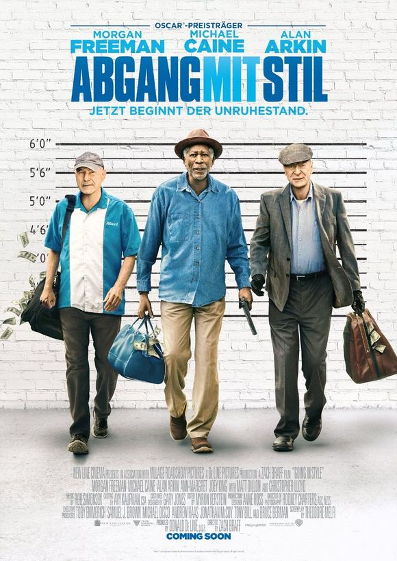 Plakat des Films: Going In Style