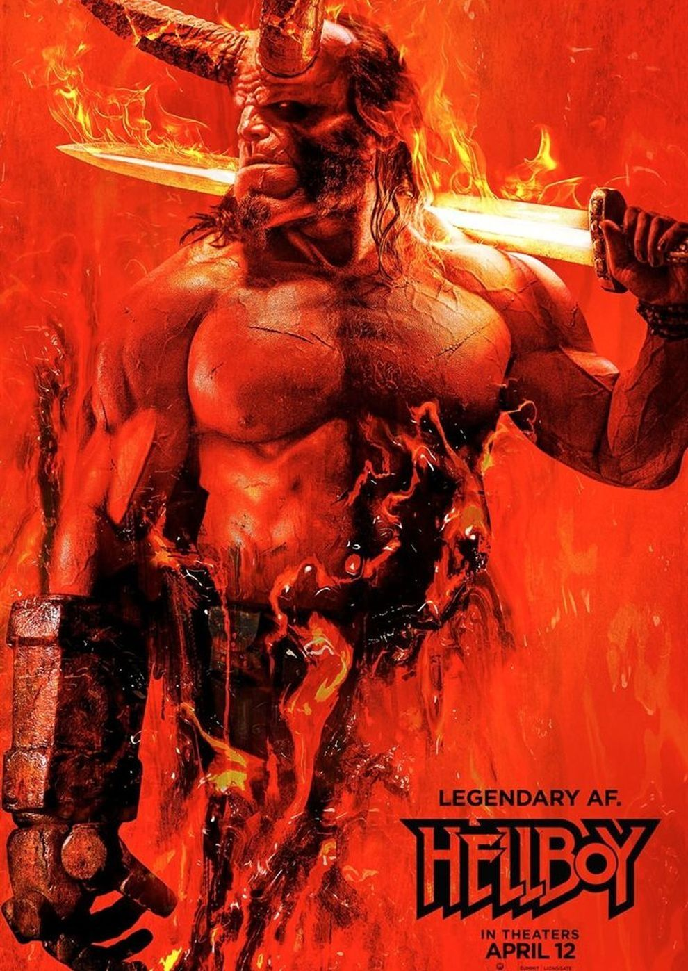 Plakat des Films: Hellboy - Call of Darkness
