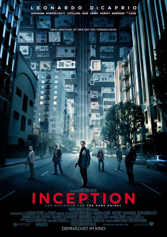 Plakat des Films: Inception