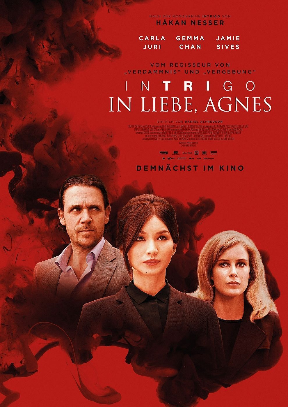 Plakat des Films: Intrigo - In Liebe Agnes