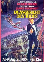 Plakat des Films: James Bond 007: Im Angesicht des Todes