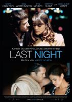 Plakat des Films: Last Night