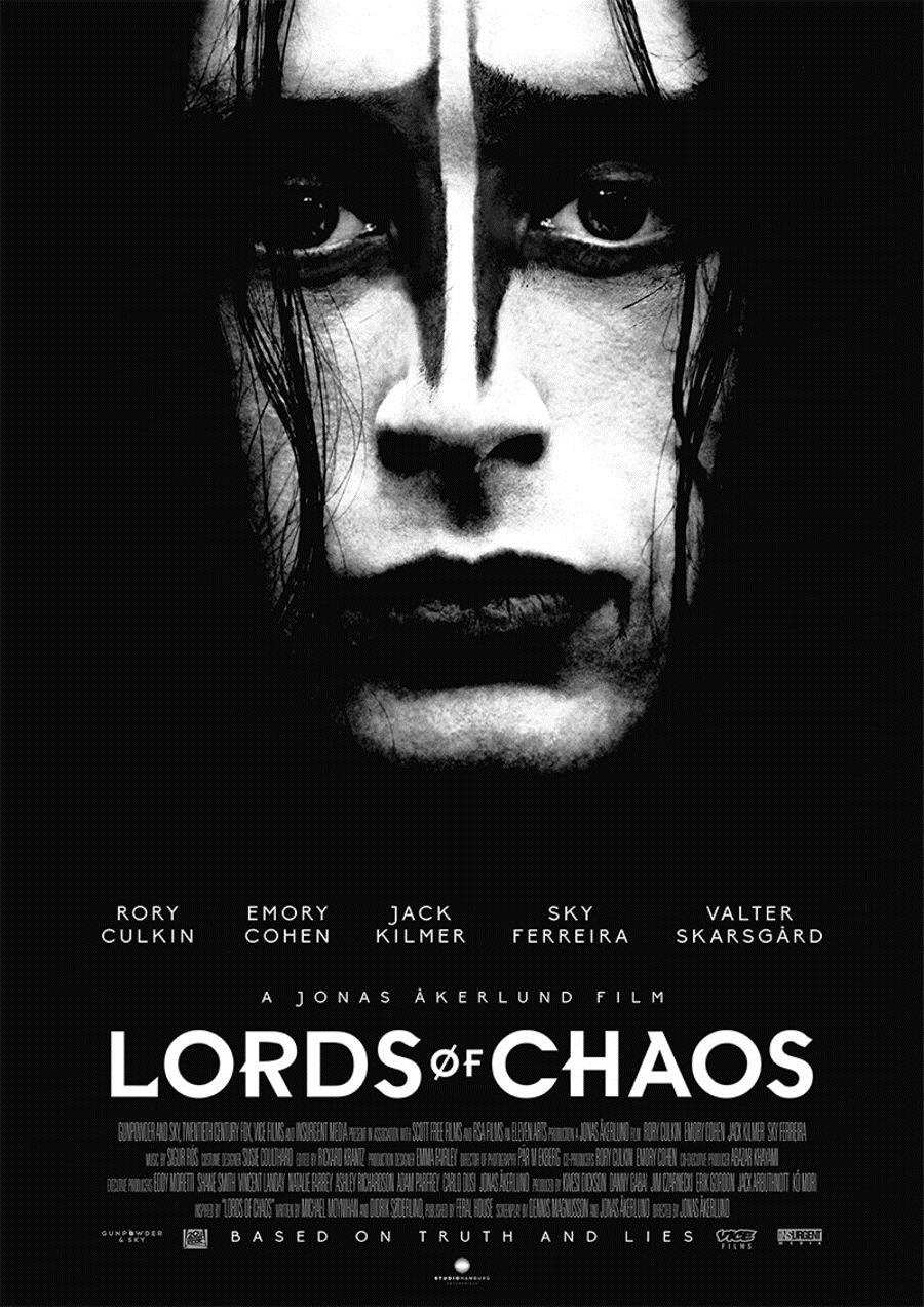 Plakat des Films: Lords of Chaos