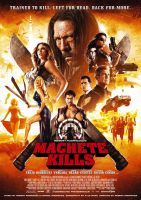 Plakat des Films: Machete Kills