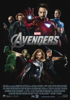 Plakat des Films: Marvel's The Avengers