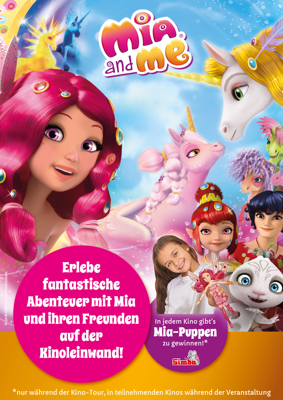 Plakat des Films: MIA AND ME Kinospecial 2019