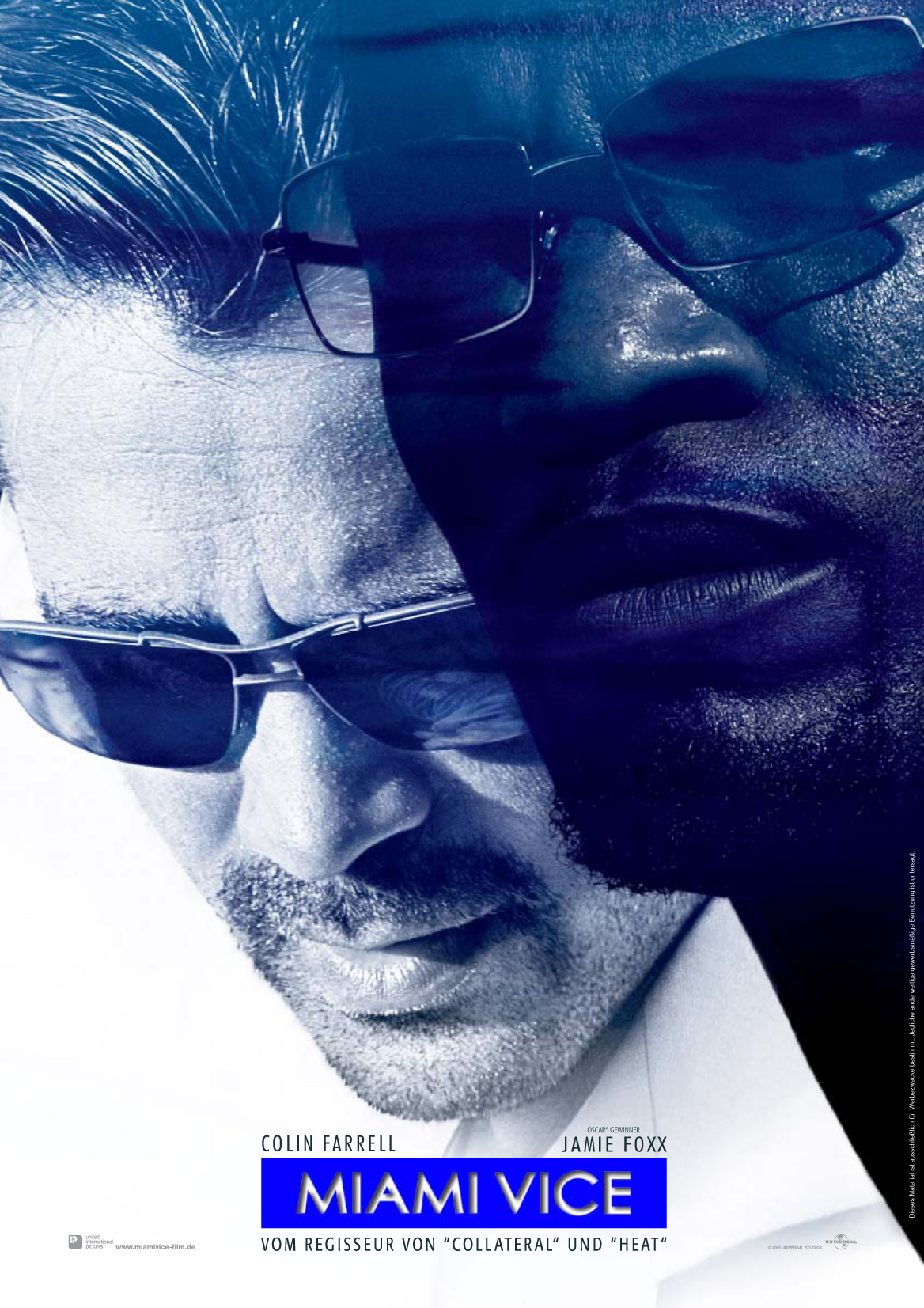 Plakat des Films: Miami Vice