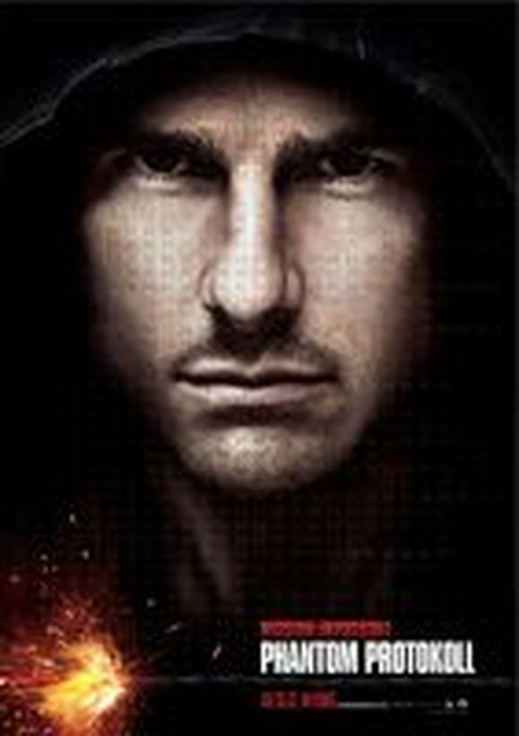 Plakat des Films: Mission: Impossible - Phantom Protokoll