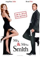 Plakat des Films: Mr. & Mrs. Smith