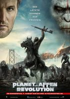 Plakat des Films: Planet der Affen - Revolution