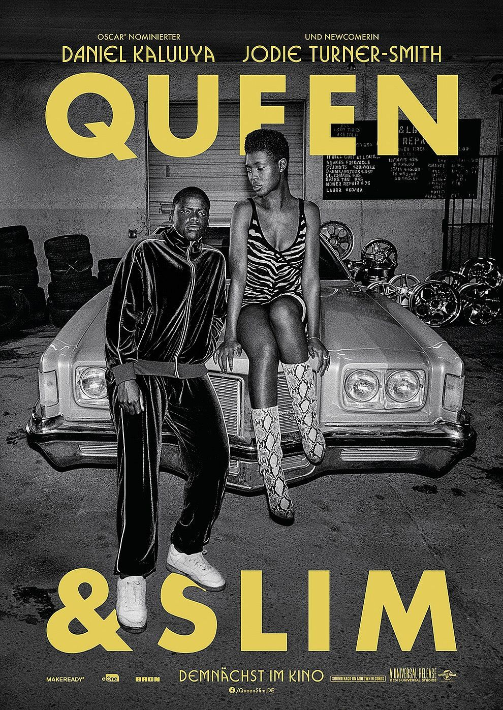 Plakat des Films: Queen & Slim