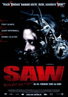 Plakat des Films: Saw