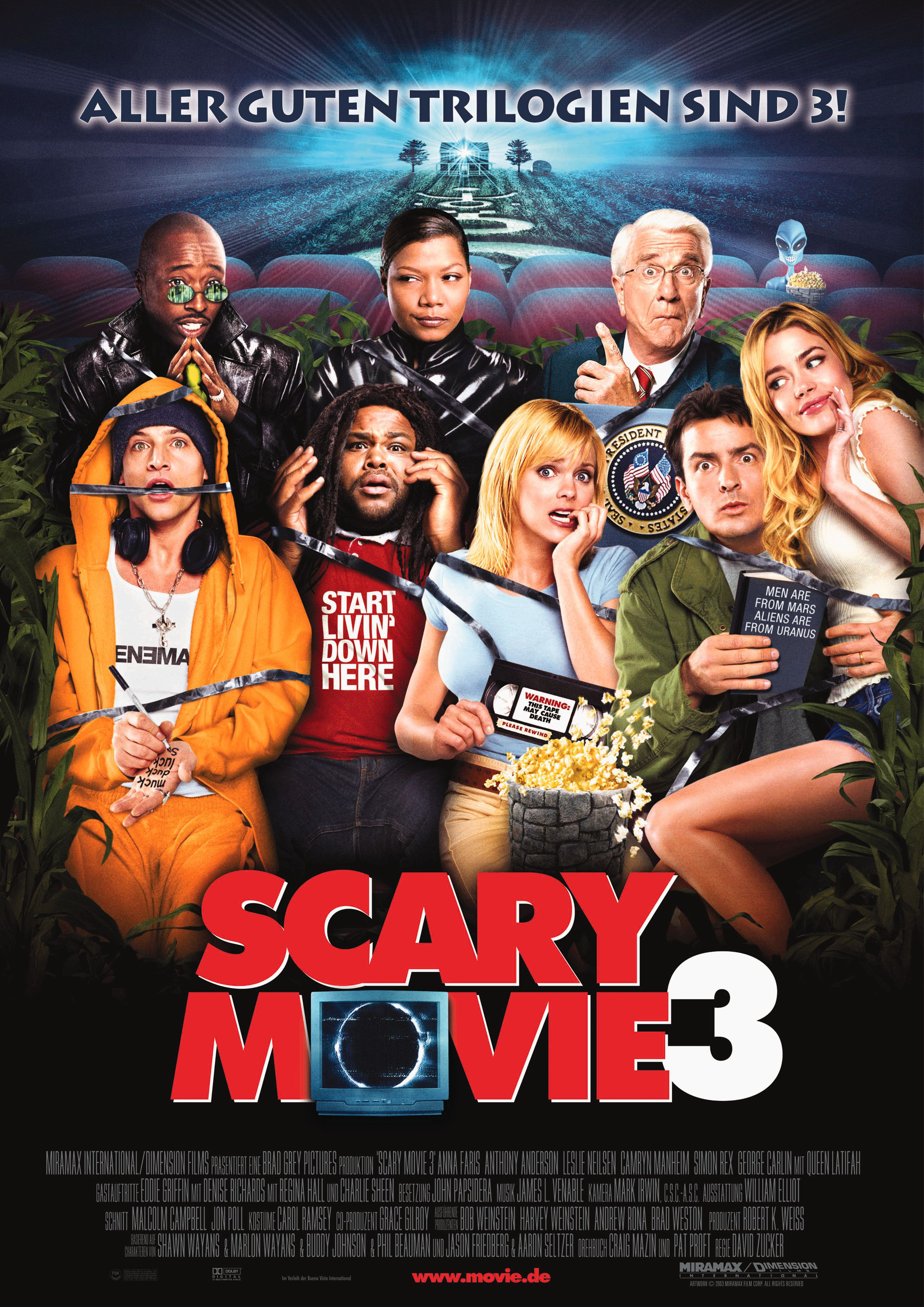 Plakat des Films: Scary Movie 3