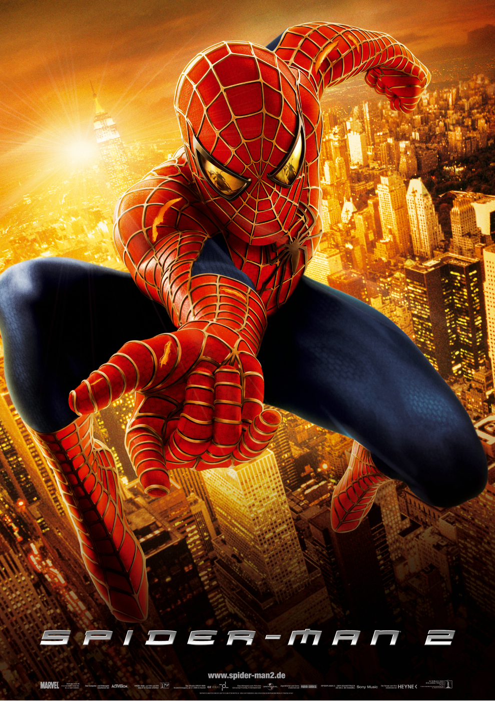 Plakat des Films: Spider-Man 2