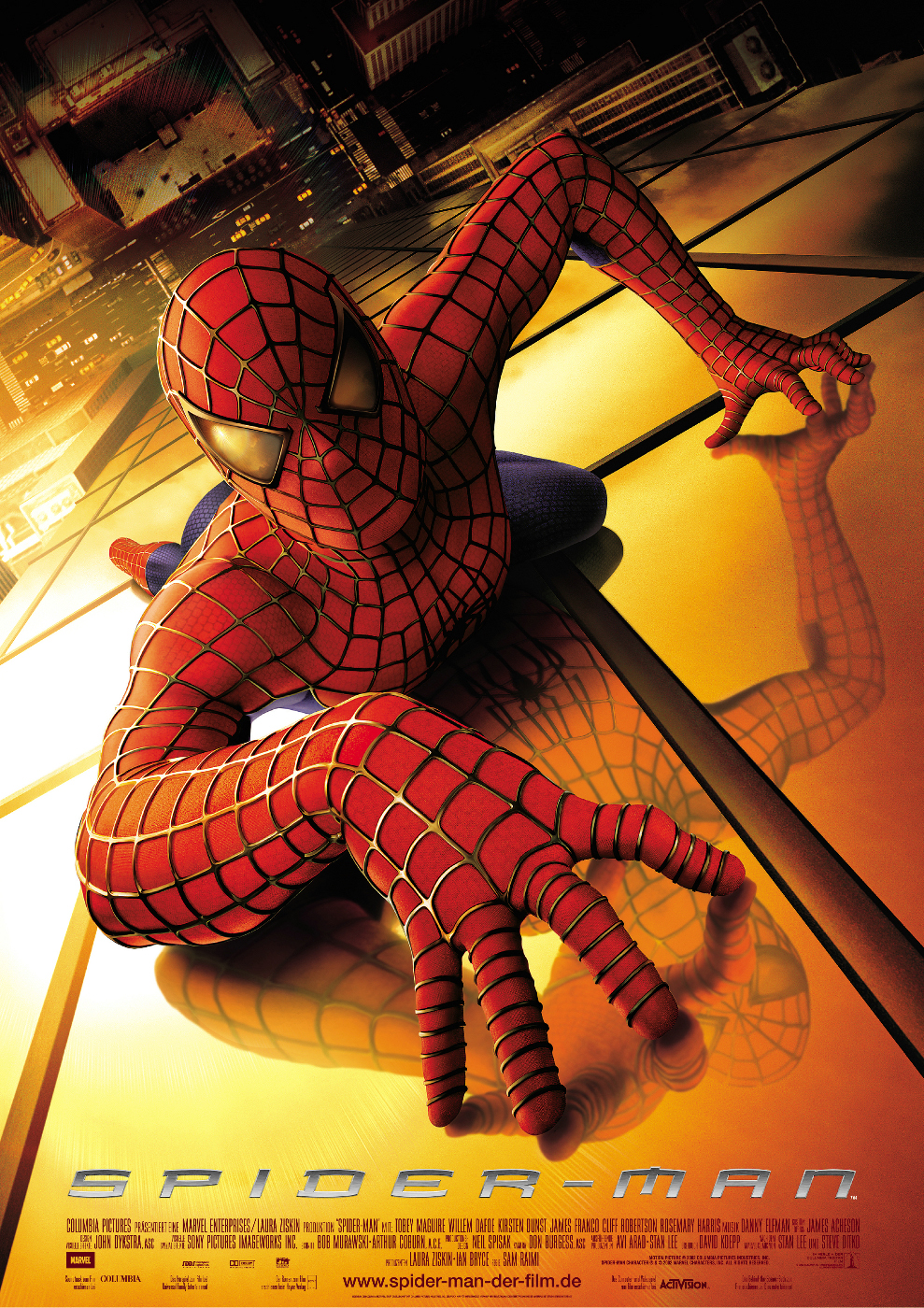Plakat des Films: Spider-Man