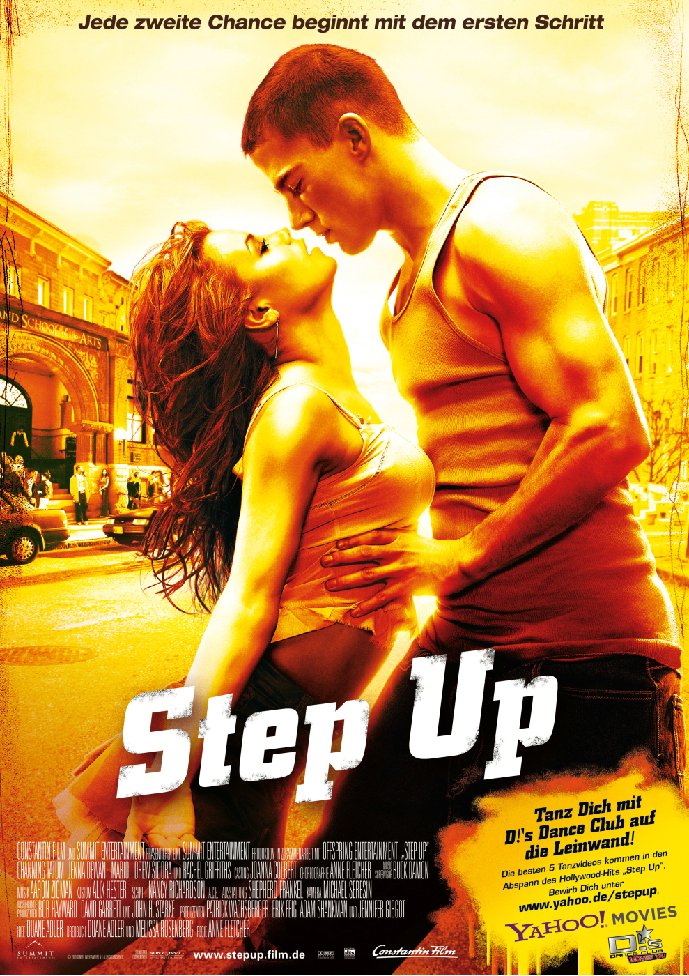 Plakat des Films: Step Up