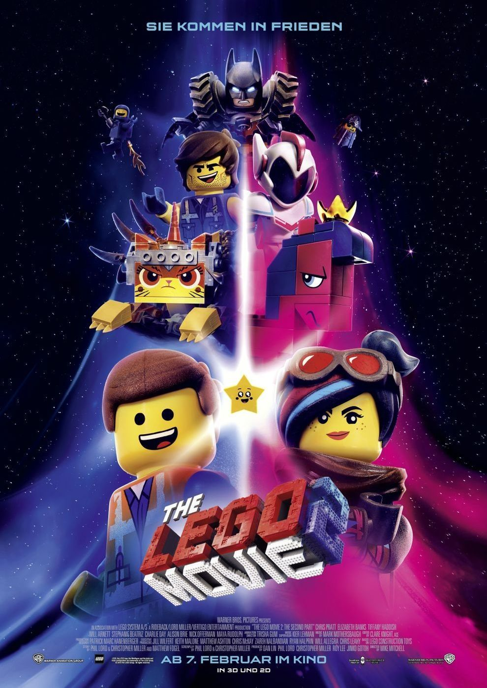Plakat des Films: The Lego Movie 2