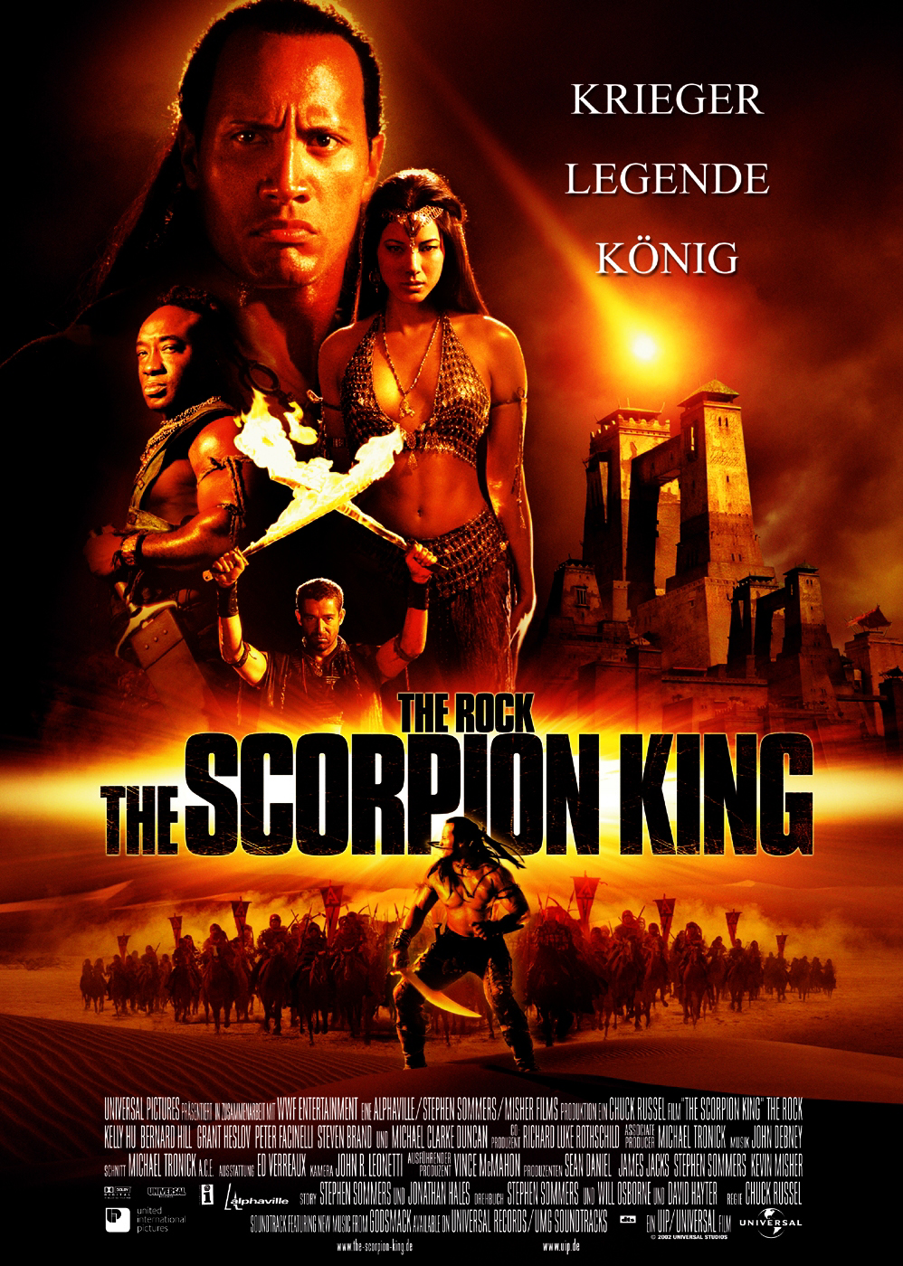 Plakat des Films: The Scorpion King