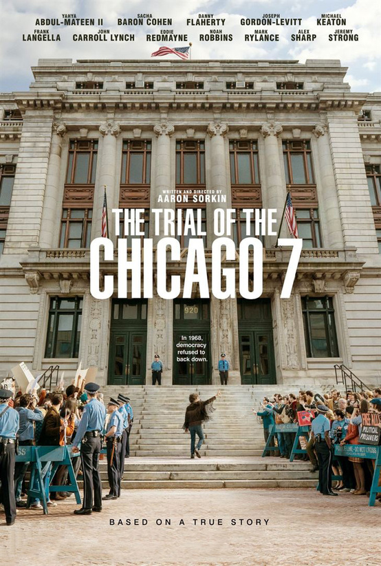 Plakat des Films: The Trial of the Chicago 7