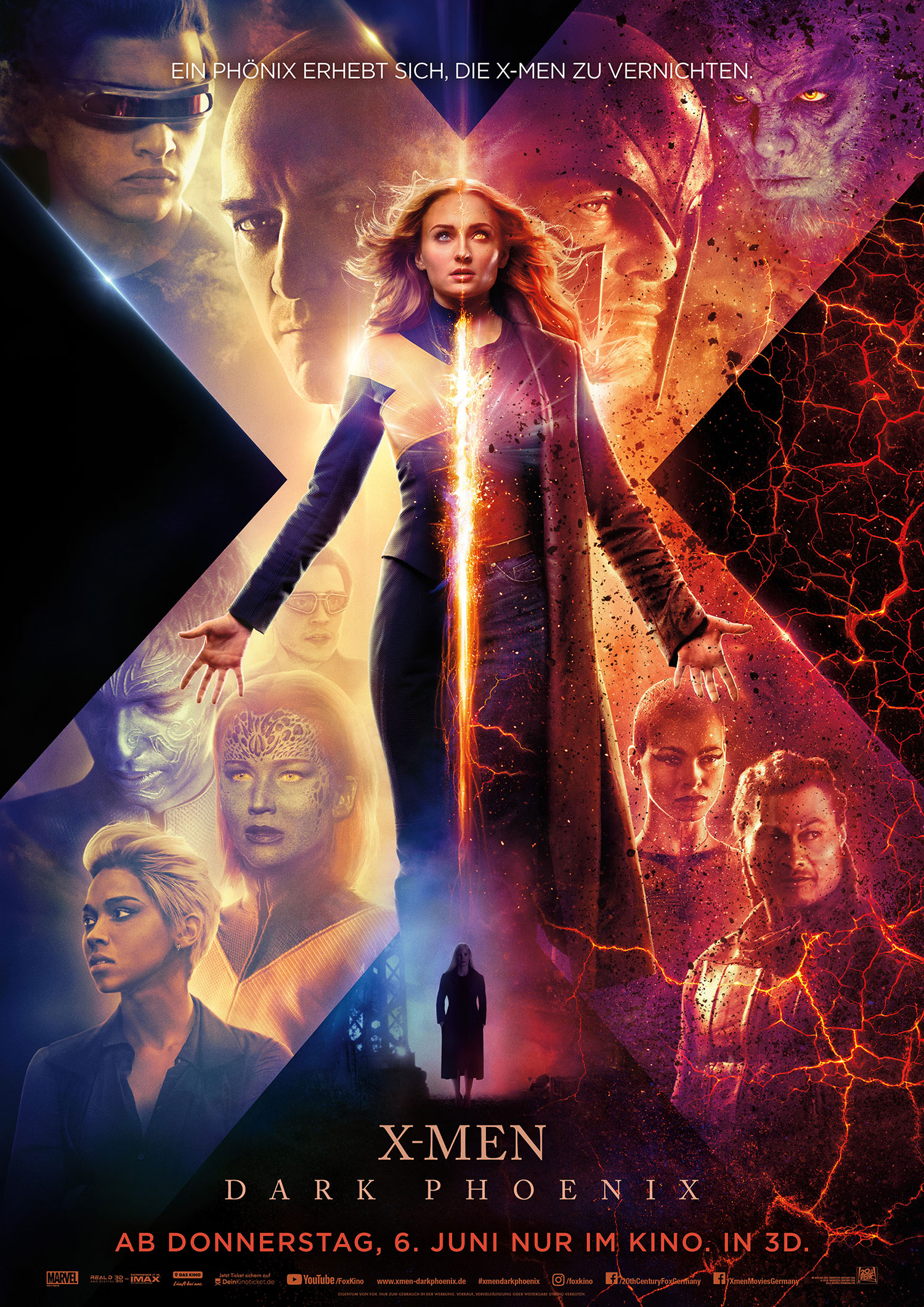 Plakat des Films: X-Men: Dark Phoenix