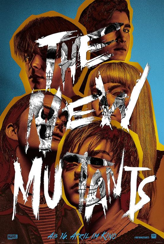Plakat des Films: X-Men: New Mutants