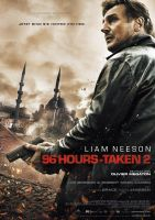 Plakat des Films: 96 Hours - Taken 2