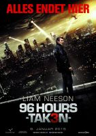Plakat des Films: 96 Hours - Taken 3