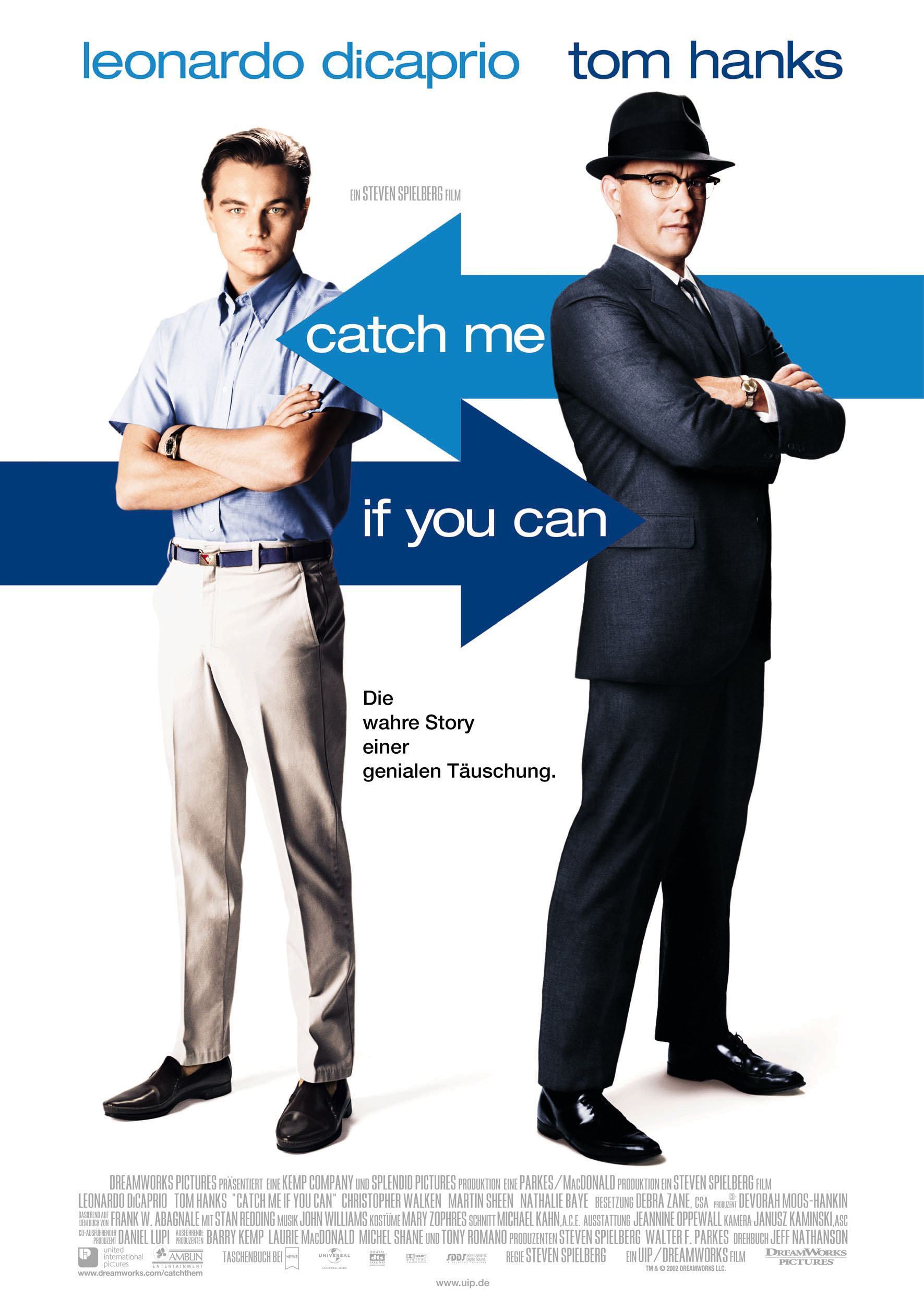 Plakat des Films: Catch Me If You Can